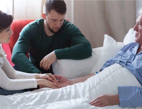 Cómo puede acompañar la familia a un enfermo terminal